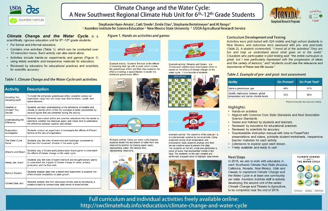 Educational Materials Southwest Climate Hub